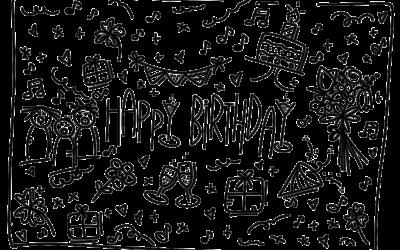 Happy Birthday Lettering – Ideen, Gestaltung, Möglichkeiten und ein Geschenk für Dich!