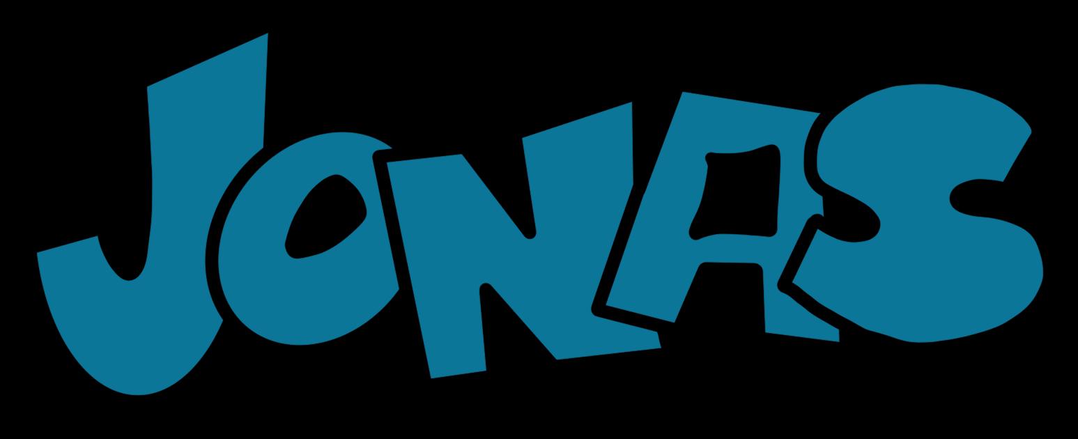 Graffiti Lettering mit coolen Graffiti Letters in Blau als Lettering Vorlage für Jonas