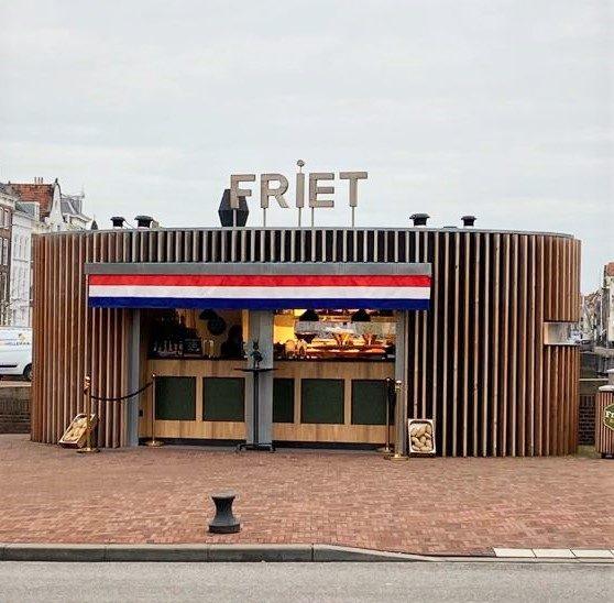 Friet Kiosk in Holland