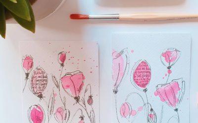 Lauter schöne Dinge: Glück kann man nicht kaufen, aber Blumen!
