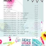 Inhaltsverzeichnis des Happy Birthday Handlettering eBook (pdf)